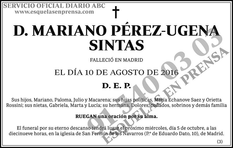 Mariano Pérez-Ugena Sintas